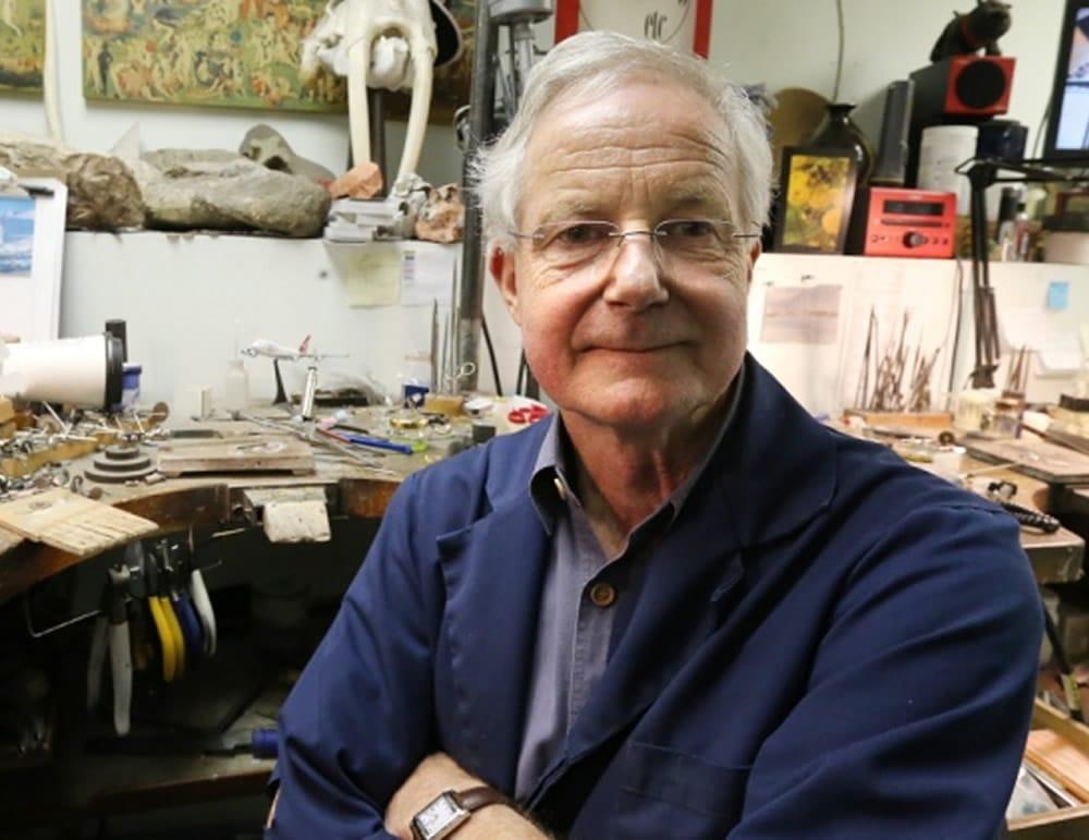 Idar Bergseth, Idar Jewellers, Award Winning Jewellery Design. Photo by Adrian Lam, Times Colonist