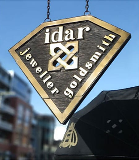 Idar-Jewellers-Victoria-BC-Canada-shop-jewellery-weddings-engagement-anniversary-shop-sign