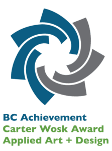 Idar Bergseth, BC Achievement Foundation, Carter Wosk Award Applied Art and Design