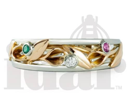 Idar Jewellers, diamonds, gold handcrafted jewellery Calla Lily Collection, Victoria, BC, Vancouver, Calgary, Edmonton, Ottawa, Toronto, Montreal, Canada