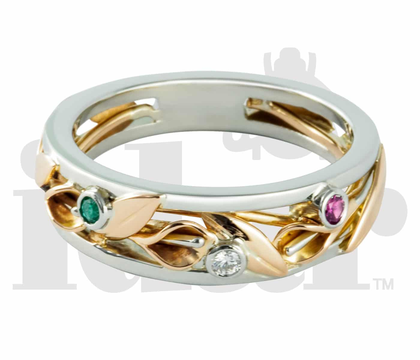 Idar Jewellers, diamonds, gold handcrafted jewellery Calla Lily Collection, Victoria, BC, Vancouver, Calgary, Edmonton, Ottawa, Toronto, Montreal, Canada