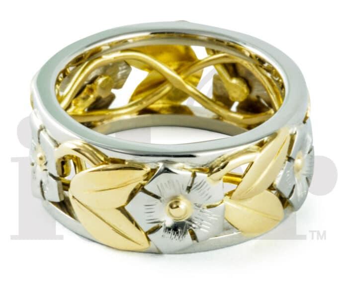 Idar Jewellers, gold handcrafted jewellery, Periwinkle Ring, Victoria, BC, Vancouver, Calgary, Edmonton, Ottawa, Toronto, Montreal, Canada