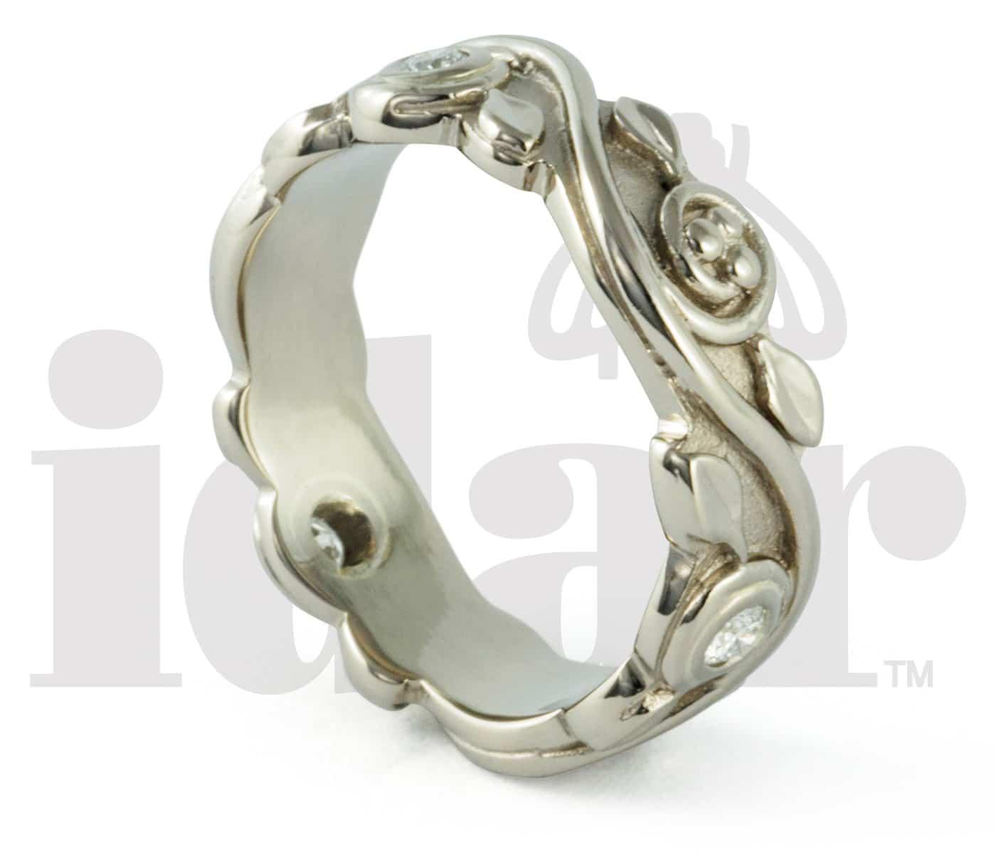 Tree of Life Ring, Idar Jewellers, diamonds, gold handcrafted jewellery, Victoria, BC, Vancouver, Calgary, Edmonton, Ottawa, Toronto, Montreal, Canada