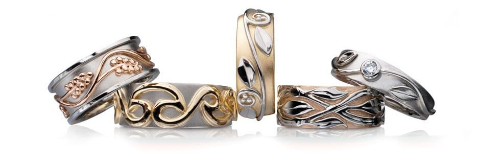 Idar Jewellers, diamonds, gold handcrafted jewellery Celtic Revival Collection, Victoria, BC, Vancouver, Calgary, Edmonton, Ottawa, Toronto, Montreal, Canada