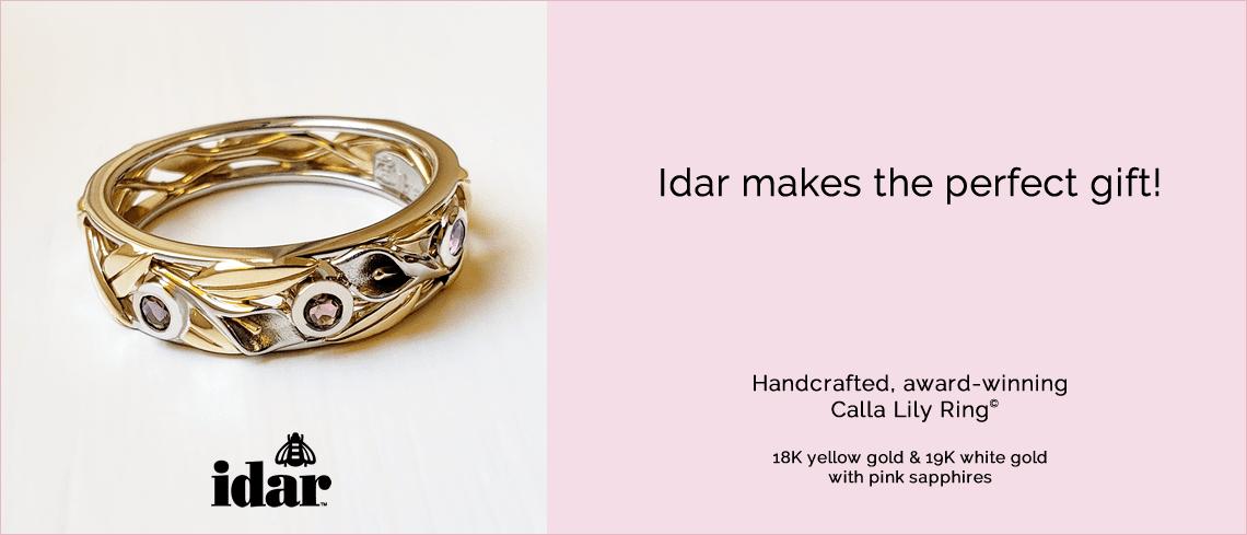 Idar Jewellers, sapphires, gold, gifts, engagement rings, wedding, anniversary jewelry, Victoria, BC, Vancouver, Calgary, Edmonton, Ottawa, Toronto, Montreal, Canada